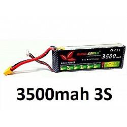 3500mah 11.1v 30C 3S Build Power Lipo Battery