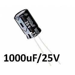 1000uf / 25v Electrolytic Capacitor