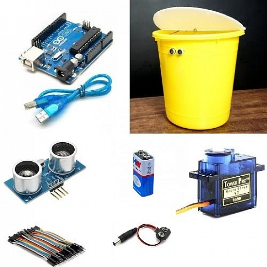 Components for Smart Dustbin Project