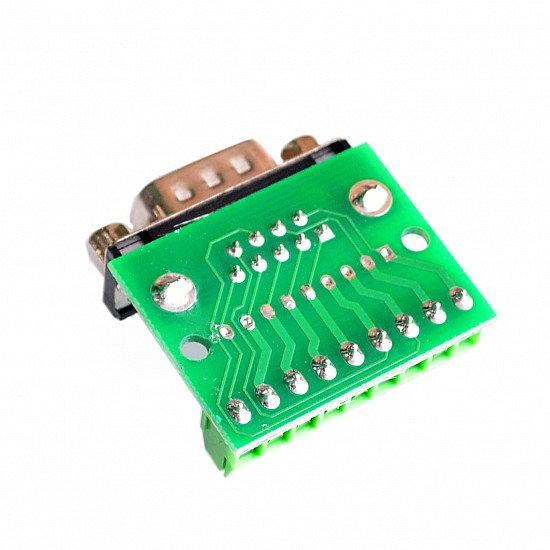 DB9 Female Screw Terminal to RS232 RS485 Conversion Board