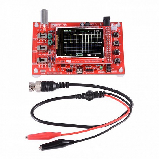 DSO138 2.4 inch TFT Digital Pocket-size Oscilloscope Kit