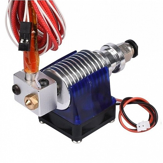 E3D V6 J-Head Hotend Extruder 1.75mm Filament 0.2mm Nozzle with Fan Duct