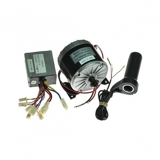 MY1016 350W Motor + Motor Controller + Twist throttle for DIY ELECTRIC BICYCLE KIT - E-Bike -