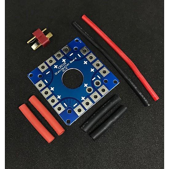 ESC Multirotor Power Distribution Battery Board for Quadcopter Multi-Axis Model
