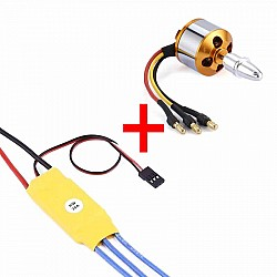 1000kv A2212 Brushless Motor with 30A ESC For RC Airplane / Quadcopter / Multirotor