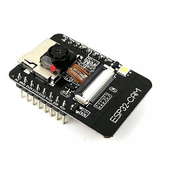 ESP32 CAM WiFi Bluetooth Development Board with OV2640 Camera Module