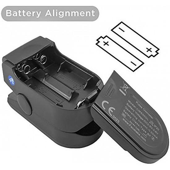 Fingertip Pulse Oximeter Black