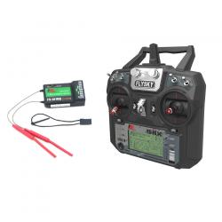Flysky FS-i6X 2.4GHz 10CH AFHDS 2A RC Transmitter With FS-iA10B 2.4GHz 10CH Receiver