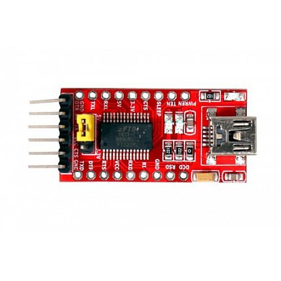 FT232RL USB to TTL 3.3V 5V Serial Adapter Module for Arduino