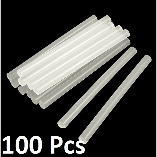 Multi-purpose Hot Melt Glue Sticks for Glue Gun - 100 Pcs