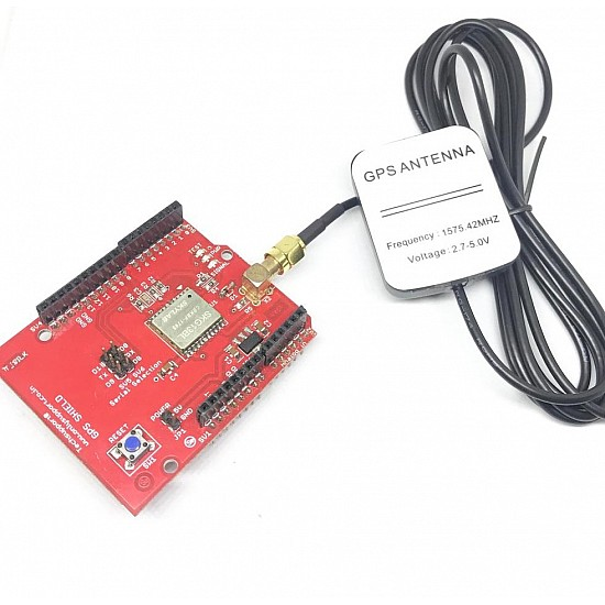 GPS SKG13 Shield with GPS Antenna