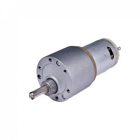 High Torque Side Shaft DC Metal Geared Motor -60RPM - DC Gear Motor - Motor and Driver