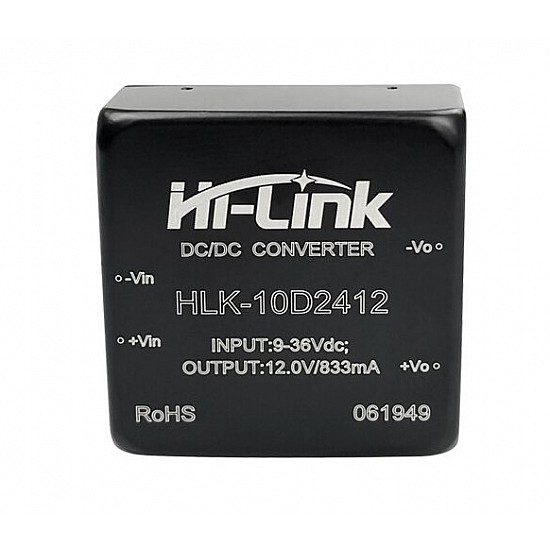 HLK-10D2412  12V/10W DC-DC Switch Power Supply Module