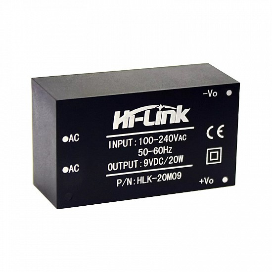 HLK-20M09 9V/20W Switch Power Supply Module