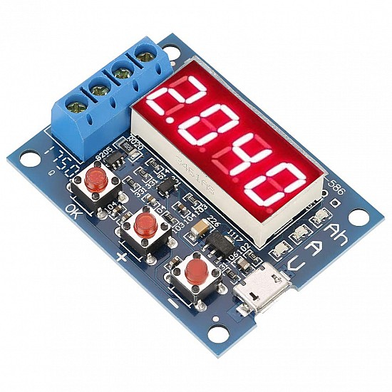 HW-586 18650 Li-ion Lithium Lead-acid Battery Capacity Meter Discharge Tester