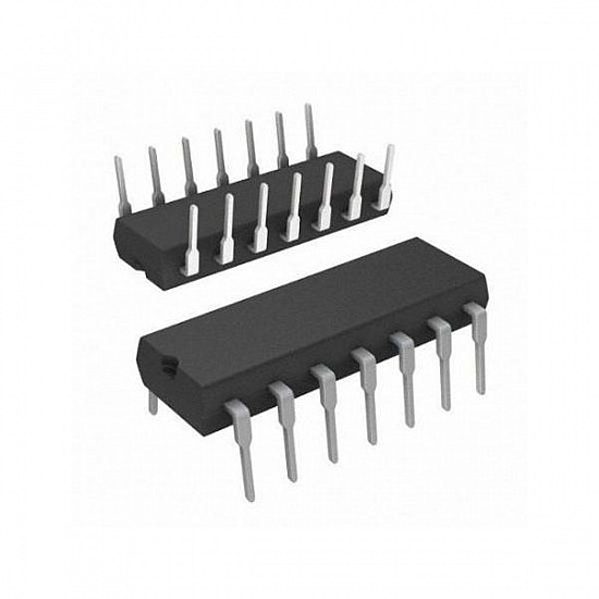 IC 74HC86 Quad 2-Input Exclusive or Gate Dip