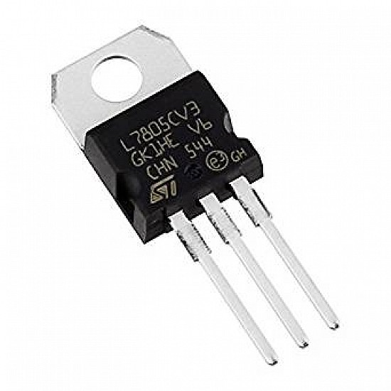 7805 Voltage Regulator IC - ICs - Integrated Circuits & Chips - Core Electronics
