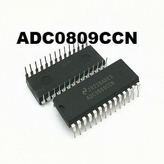 1PCS Analog to Digital Converters IC TI DIP-28 ADC0809N ADC0809N3