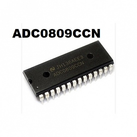 ADC0808  ADC0809 IC - 8-Bit ADC Converters IC - ICs - Integrated Circuits & Chips - Core Electronics
