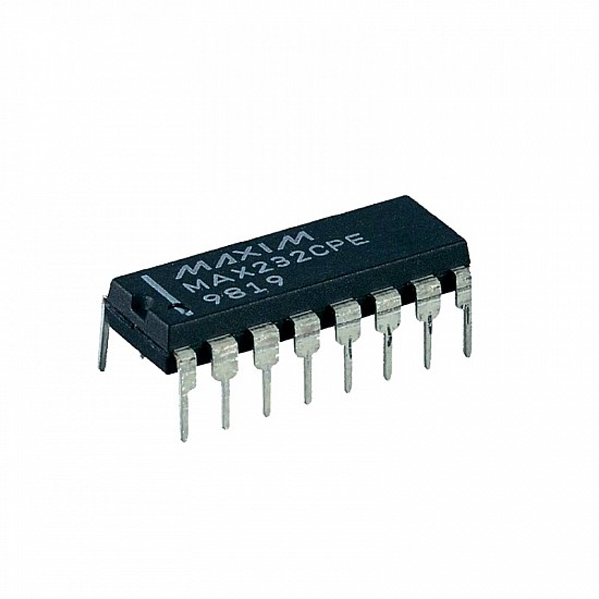 MAX232 - Dual Driver/Receiver IC - ICs - Integrated Circuits & Chips - Core Electronics