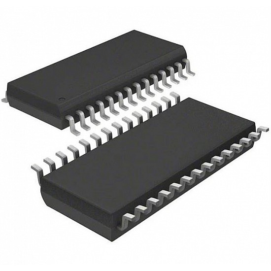MICROCHIP PIC24FJ64GB002-I/SO 16 Bit Microcontroller,PIC24FJ,32 MHz,64 KB,8 KB,28 Pins,SOIC,General Purpose - ICs - Integrated Circuits & Chips - Core Electronics