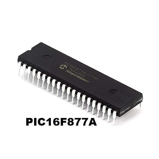 Microchip PIC16F877A - Flash 8kbyte 4MHz Microcontroller - ICs - Integrated Circuits & Chips - Core Electronics