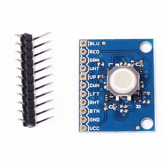 ICSH044A Blackberry Trackball Breakout Board 360 Degree Trajectory Ball Module