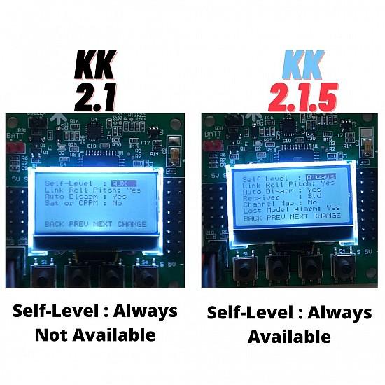 KK2.1.5 LCD Flight Controll Board for FPV Racing Drone - Flight Controller - Multirotor