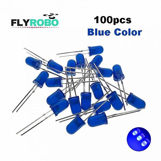 Blue LED 5mm Pack Of 100  (Light Emitting Diod) - Other -