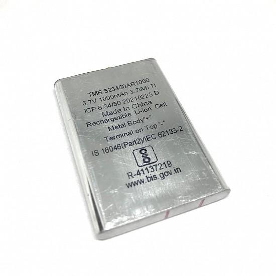 Li-Ion 3.7V 1000MAH Rechargeable Battery-1C
