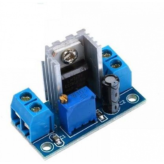 LM317 DC-DC Step-Down Power Converter Module