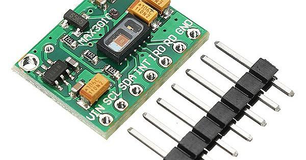MAX30102 Pulse Oximeter Heart Rate Sensor Module