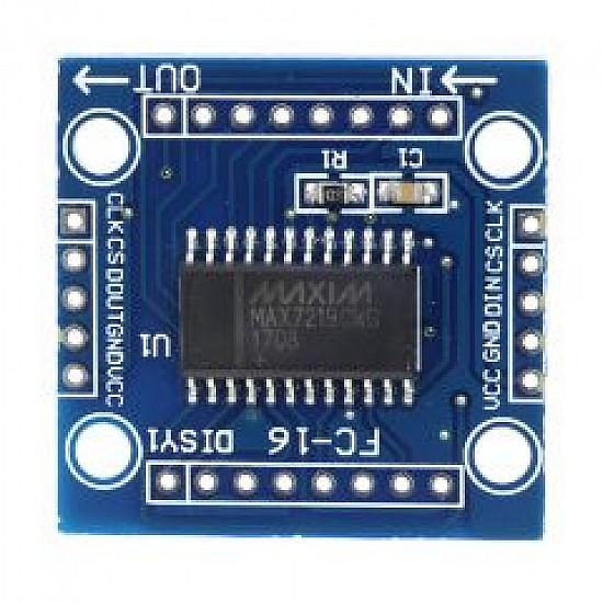 MAX7219 8X8 Dot LED Matrix Display Module