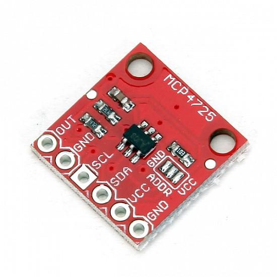 MCP4725 I2C DAC Breakout Development Board