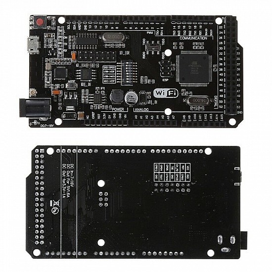 Mega +WiFi R3 Atmega2560+NodeMCU ESP8266 32Mb Memory USB-TTL CH340G Compatible for Arduino Mega