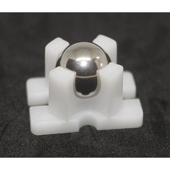 mini vacuum steel ball caster wheel