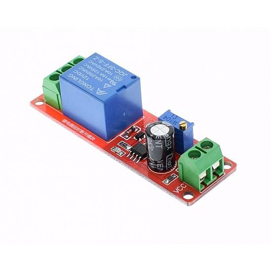 NE555 Delay Timer Switch Adjustable 12V Relay Module