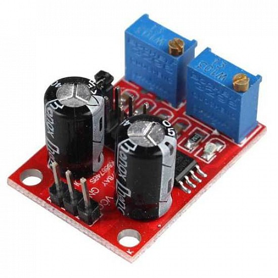 NE555 Frequency Adjustable Pulse/Square Generator Module