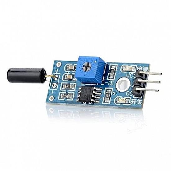 Normally open vibration sensor module