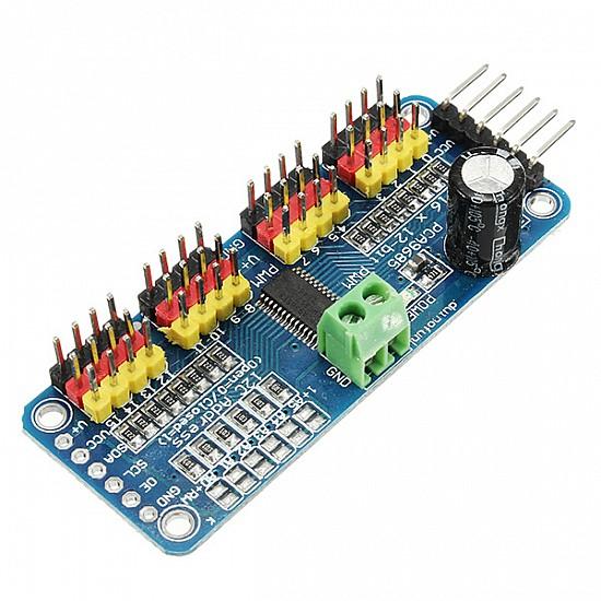 16 Channel PWM Servo Motor Driver I2C Module - Sensor - Arduino