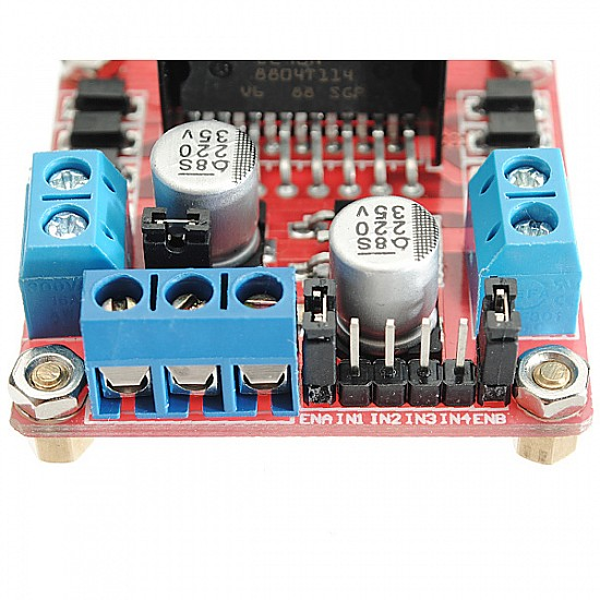 L298N Motor Driver Module For Arduino - Stepper Motor and Drivers - Motor and Driver