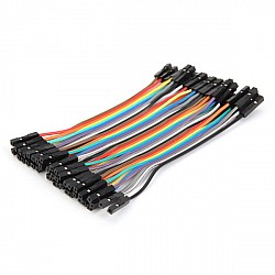 20cm Female To Female Jumper Cable Wire For Arduino - 10pcs