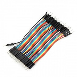 20cm Male To Male Jumper Cable Wire For Arduino - 10pcs
