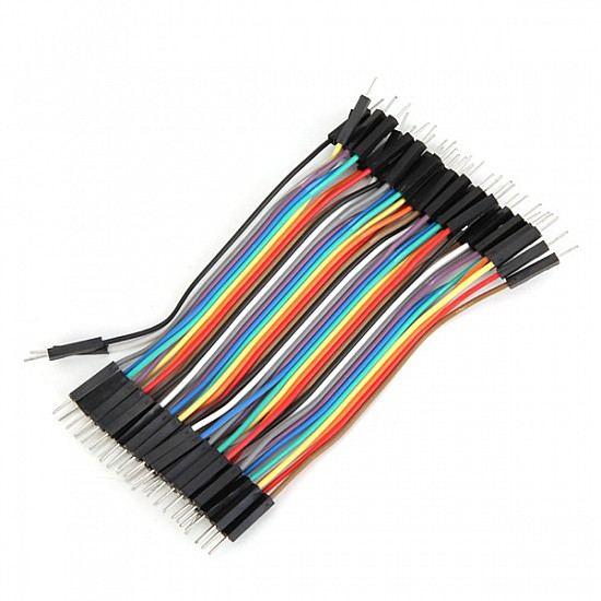 20cm Male To Male Jumper Cable Wire For Arduino - 10pcs - Other - Arduino