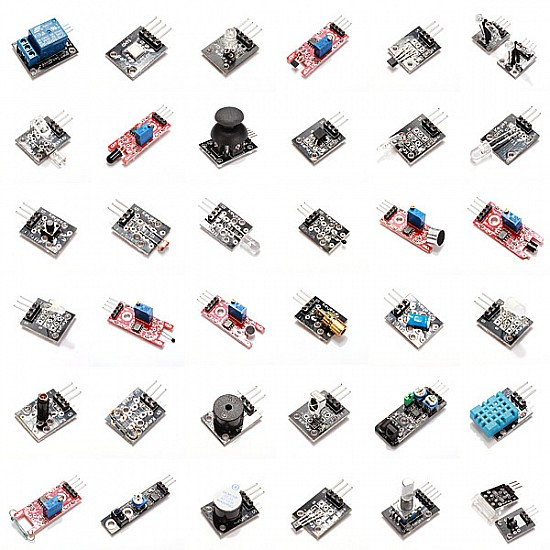 37 In 1 Sensors Set Kit For Arduino - Sensor - Arduino