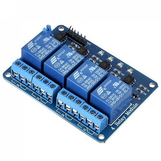 5v 4 Channel Relay Module - Sensor - Arduino