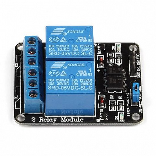 5v 2 Channel Relay Module - Sensor - Arduino