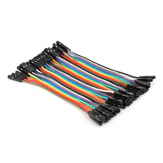 20cm Female To Female Jumper Cable Wire For Arduino - 10pcs - Other - Arduino