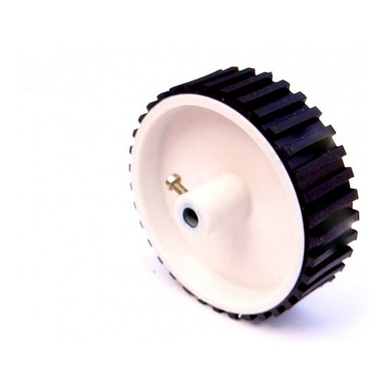 Robot Wheel 7 X 2 CM for Motor - Robot Spare Parts -