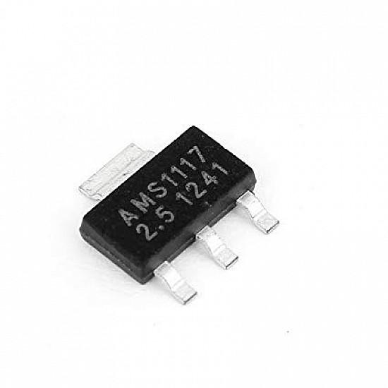 AMS1117-2.5V,1A,SOT-223 Voltage Regulator IC - ICs - Integrated Circuits & Chips - Core Electronics